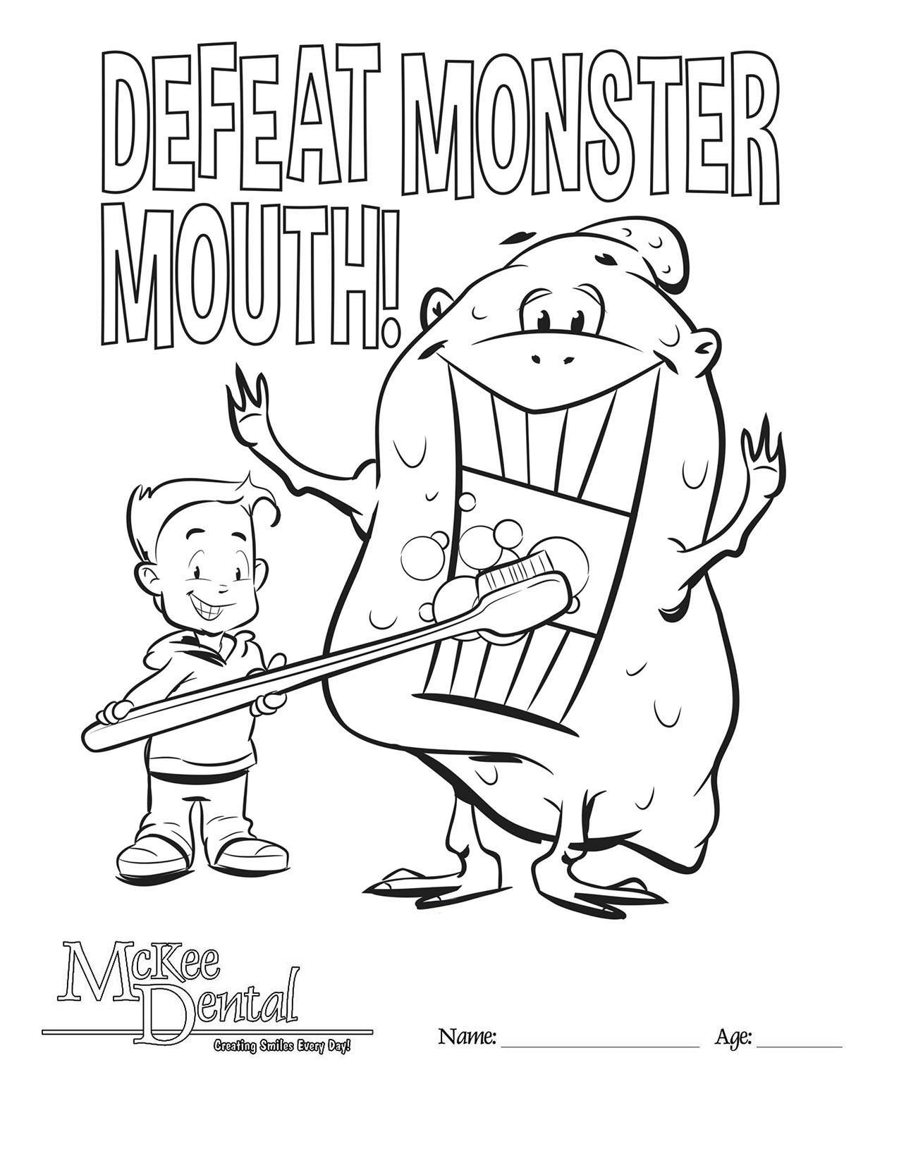 3 8 monster mouth